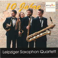 Leipziger Saxophon Quartett - CD Cover